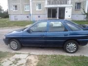 продаётся автомобиль форд-эскорт1994года, 1.6бензин, синий-металик,  хэтч
