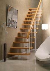Модульная лестницас любой конфигурации спуска